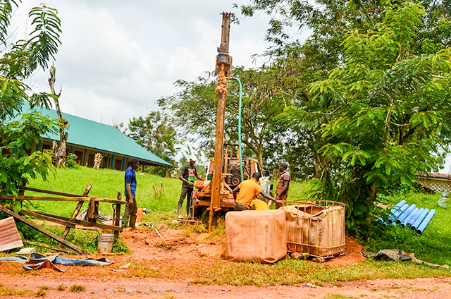 Drilling of deep well