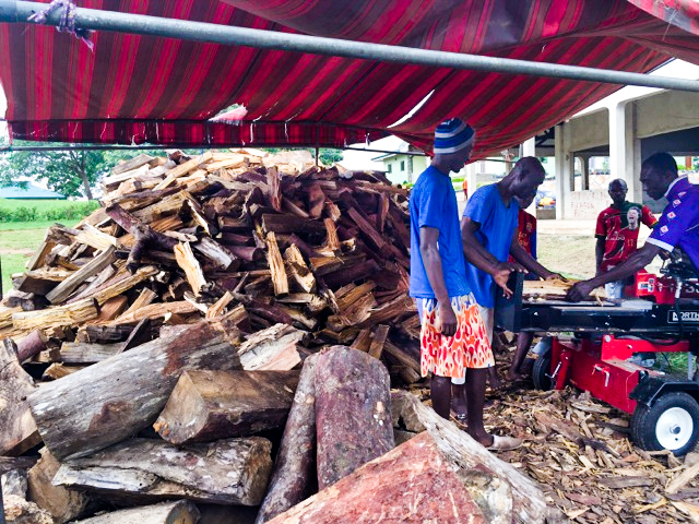 Small business development ~ firewood production